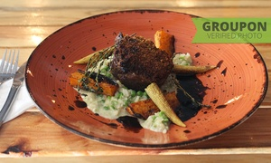 Nomad Bistro Fusion: Three-Course Dining Experience from R285 for Two at Nomad Bistro Fusion