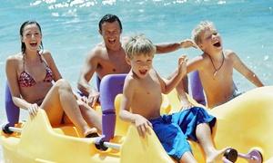 Cap Ferrat Watersports: 1h de pédalo pour 2 adultes et 2 enfants à 14,90 € avec Cap Ferrat Watersports