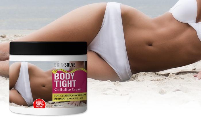 skin solve body tight cellulite cream 12oz groupon. Black Bedroom Furniture Sets. Home Design Ideas