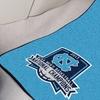 NCAA 2017 Basketball National Champs Carpeted Car Mat 2 piece Set: UNC