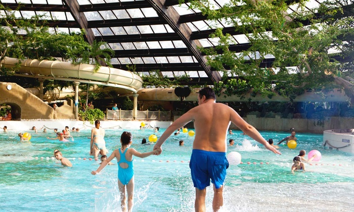 Center Parcs Zandvoort Zwembad.Dagje Zwemmen Met Keuze Uit 8 Verschillende Zwemparadijzen Center