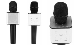 Micro/Enceinte Bluetooth Karaoké