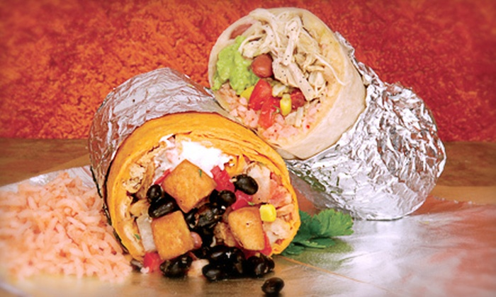 Big City Burrito - Multiple Locations: $6 for $12 Worth of Mexican Food and Drinks at Big City Burrito