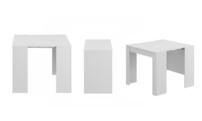 Tavolo Consolle Allungabile Fino A 235 Cm.Tavolo Consolle Allungabile Prime Groupon Goods