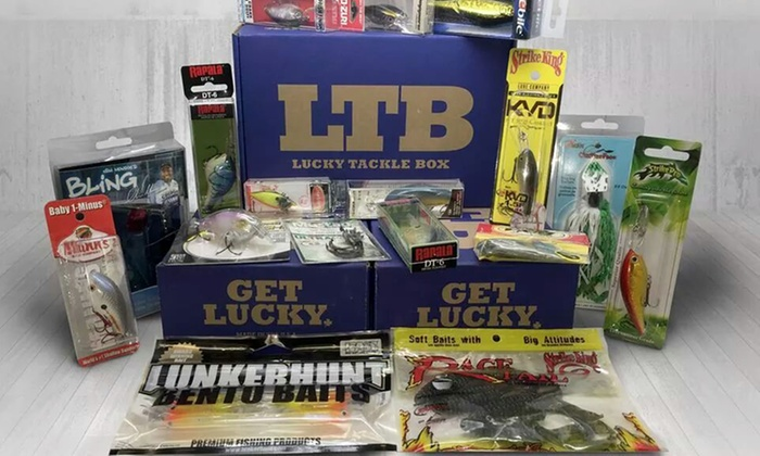 Tackle Box Subscriptions - Lucky Tackle Box | Groupon