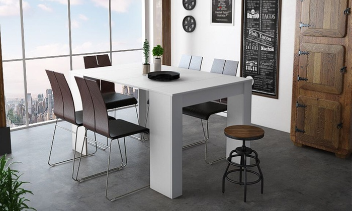 Small Or Large Extending Console Dining Tables In Choice