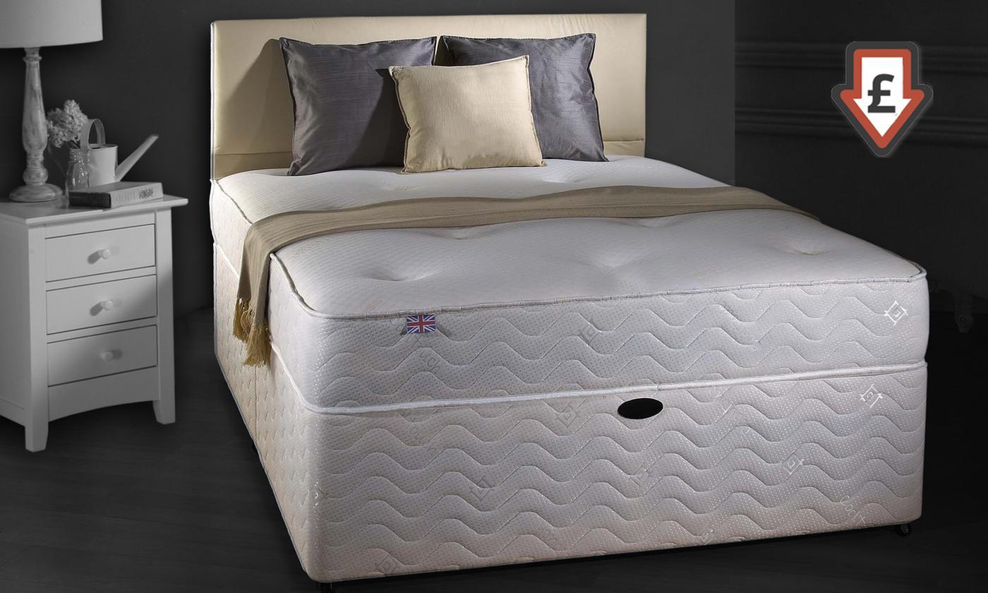 monaco memory sprung mattress
