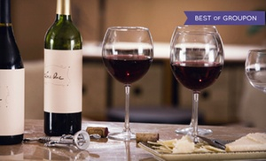 1742 Wine Bar: $49 for a Wine Tasting for Two with Appetizer, Dinner, and Bottle of Wine at 1742 Wine Bar (Up to $170.90 Value)