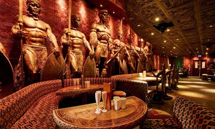 ThreeCourse Meal and Cocktail for Up to Six at Shaka Zulu