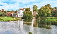 Suffolk: 1 or 2 Night 4* Stay For Two With Breakfast, Dinner and Cream Tea at The Mill Hotel