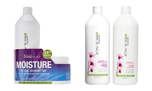 Matrix Biolage Colorlast or HydraSource Shampoo and Conditioner Set