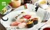 ランチ&ディナー|贅沢寿司(全4品)+2ドリンク
