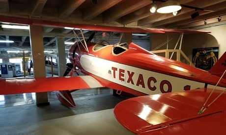 Single-Day Admission for One, Two or Four, or One-Year Crew Membership at Kansas Aviation Museum (Up to 44% Off)