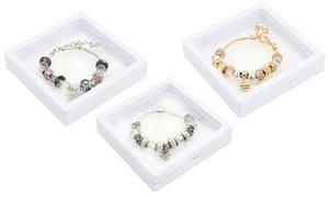 Bracelet charm cristaux Swarovski®