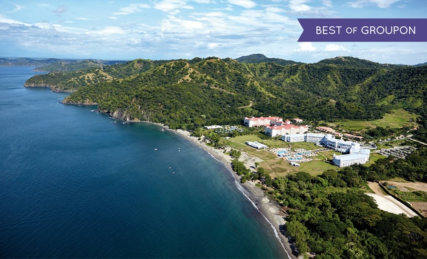 TripAlertz wants you to check out ✈ 4 Night Riu Palace Costa Rica Trip w/ Air. Price/Person Based on Dbl. Occupancy (Buy 1 Groupon/Adult).  ✈ All-Inclusive Riu Palace Costa Rica Trip w/Air from Vacation Express - All-Inclusive Costa Rica Stay