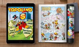 Abbonamenti e riviste - Disney: Abbonamento a Topolino digitale e cartaceo con spedizione gratuita