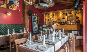bracerie venete: Menu carne con bis di antipasti, bis di primi, tris di filetti e vino al ristorante Bracerie Venete (sconto fino a 42%)