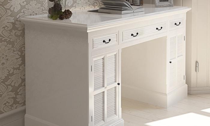 bureau classique groupon. Black Bedroom Furniture Sets. Home Design Ideas