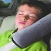Kids' Car Seat Belt Shoulder Support and Headrest Safety Cushion
