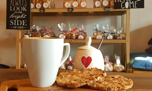 The Cookie Yard: Choice of Any Coffee and Choc-Chip Cookie from R22 for One (Up to 46% Off)