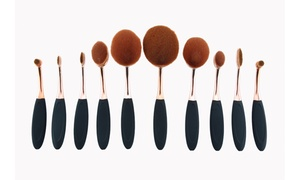 Professional Couture Velveteen Oval Makeup Brush Set (10-Piece) at Professional Couture Velveteen Oval Makeup Brush Set (10-Piece), plus 6.0% Cash Back from Ebates.