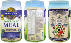 Up to 22 off on garden of life raw organic shake groupon goods for Garden of life customer service