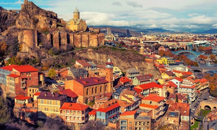 ✈ Georgia: 3 Night Stay at Hotel Imperial House with Flights, Transfers and Tours*