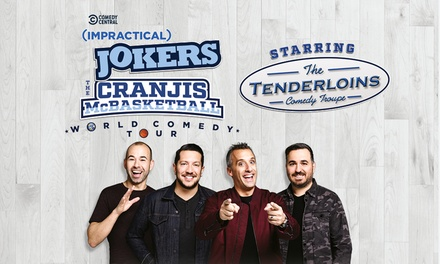 Impractical Jokers Live, 11–17 October at Five Locations