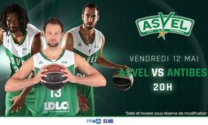 Asvel Basket: 2 ou 4 places pour Asvel VS Antibes le 12 mai 2017 à 20h, dès 19 € à l'Astroballe de Villeurbanne