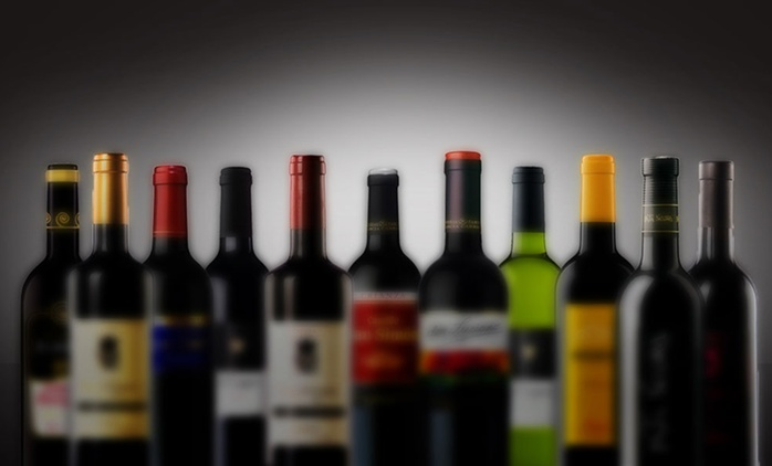 12-Bottle Mystery Wine Selection Clearance Case for £39.99 With Free Delivery (64% Off)