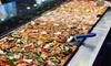 Pizzas au choix en illimité