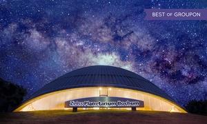 Zeiss Planetarium Bochum: Zwei oder vier Eintrittskarten für das Zeiss Planetarium Bochum (50% sparen)