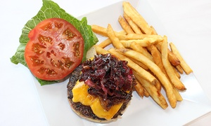 Seaside Grill: $30 for Meal for Two with Sangria, Beer, or Wine at Seaside Grill ($50 Value)