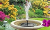 1.2W Free Standing Solar Water Fountain