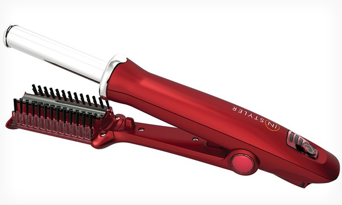 "Instyler Rotating Hot Iron: $69.99 for an Instyler 3/4""Rotating Hair Iron ($99.99 List Price). Three Styles Available. Free Shipping and Returns."