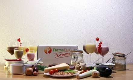 Gezond en verantwoord afvallen met de FormaFast Xtreme 10-dagen-Box