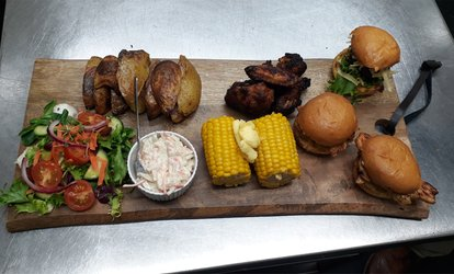 image for Sharing Board for Two at The Courtyard @ No12 (Up to 46% Off)