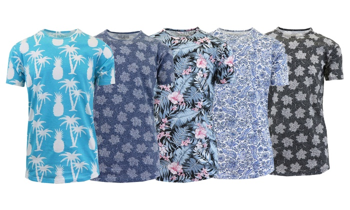 Men's Printed Fashion Tees