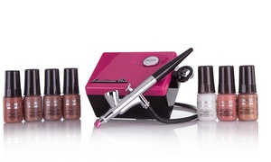 Limited Edition Pink Legend Airbrush System with Makeup Starter Kit