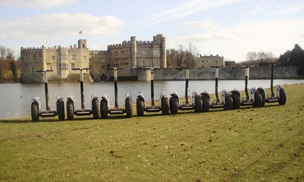 Segway Adventure Tour Experience for Two at Leeds Castle with Southern Segway