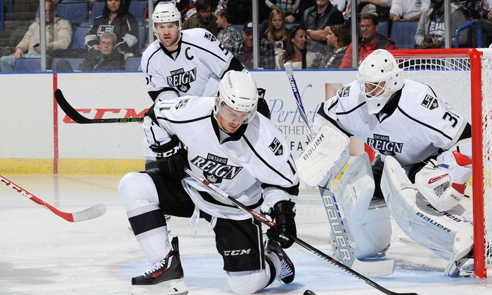 Ontario Reign - Citizens Business Bank Arena: Two Wrap Around Defend Section Tickets to a 2015-2016 Regular Season Home Game