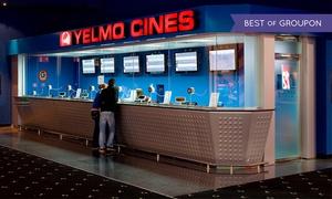 Yelmo Cines: Una entrada a Yelmo Cines Canarias con opción a menú desde 4,95 € en cinco cines a elegir