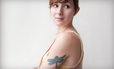 Three Laser Tattoo-Removal Sessions for 3, 6, or 10 Sq. In. at Eliminate Tattoo Removal (Up to 67% Off)