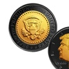 Donald Trump 45th President Ruthenium and 24K Gold-Clad Tribute Coin