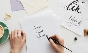 LEARNAC: Online-Kurs Kalligraphie mit 24 Monaten Betreuung + Zertifikat und 25€ Amazon Gutschein** bei LEARNAC (bis 16% sparen*)