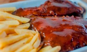 Restaurante Casarrara: Costelinha ao molho barbecue para 2 ou 4 pessoas no Restaurante Casarrara – Matatu
