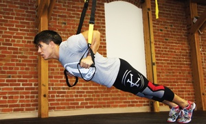 ThirdSpace Fitness: 10 CrossFit or TRX and Yoga Classes at ThirdSpace Fitness (80% Off). Two Options Available.