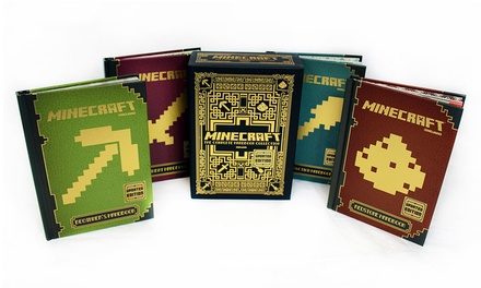Four-Book Complete Minecraft Handbook Collection