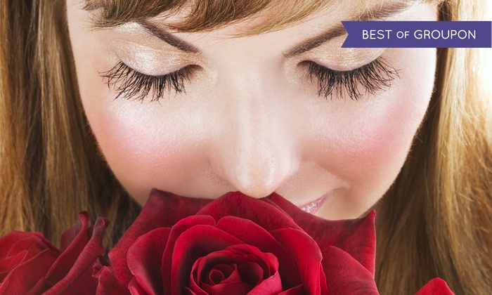 The Extension Lounge - Dallas: Full Set of Eyelash Extensions at The Extension Lounge (Up to 54% Off)
