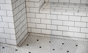 Rapid Restoration Services: Shower Grout Cleaning Package from Rapid Restoration Service (51% Off)